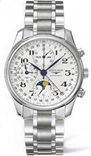 Master Collection Silver Dial Chronograph Stainless Steel Mens Watch L26734786
