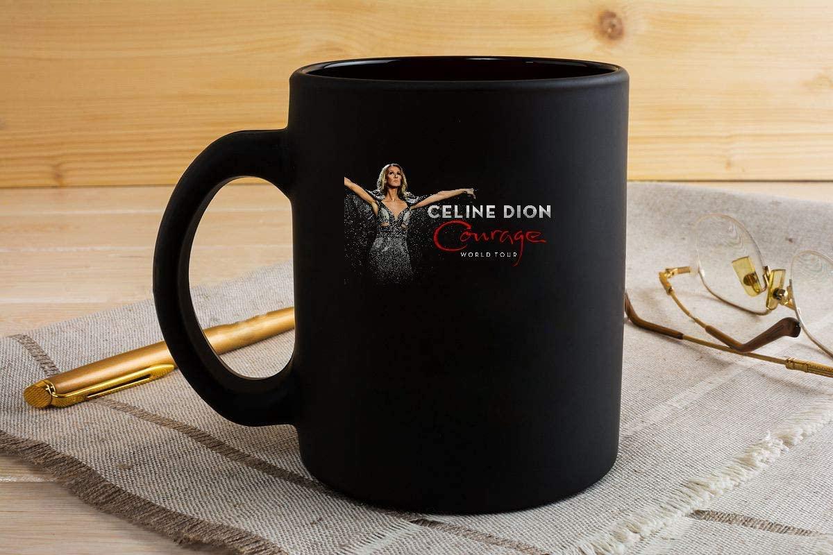 Celine Dion Courage World Tour 2019 Mug Coffee Mug Gift Coffee Mug 11OZ Coffee Mug