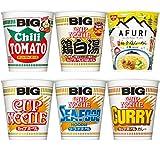 [6品種] 日清 ビッグ 詰め合わせ 6種×2個セット /カップヌードル BIG /鶏白湯 とりぱいたん /有名店 AFURI 柚子塩らーめん 詰合せ [204] (計12食)