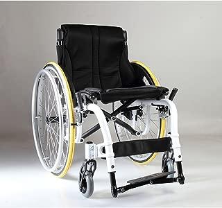 Karman White Frame Ultra Lightweight Wheelchair, 18