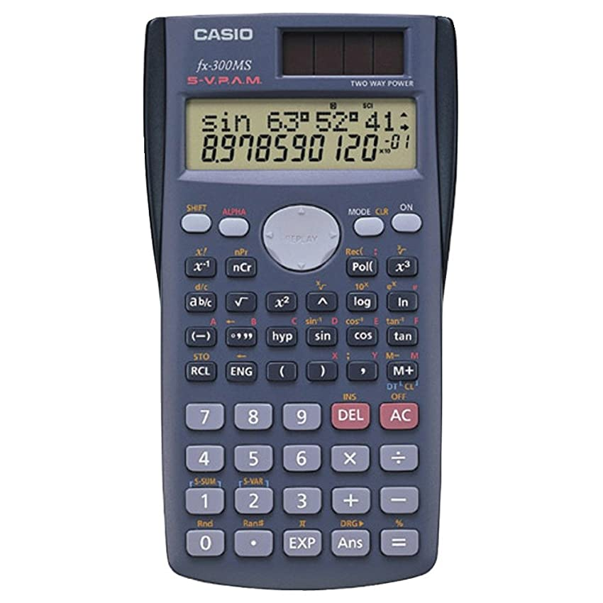 スタイル入学するシーボードCasio fx300-ms Scientific Calculator with 240組み込み関数