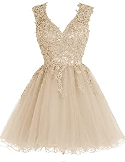 Best champagne short homecoming dresses Reviews
