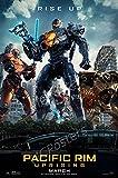 MCPosters - Pacific Rim Uprising Movie Poster Glossy Finish - MCP063 (24' x 36' (61cm x 91.5cm))