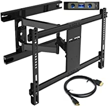 Everstone TV Wall Mount for Most 32-70 Inch with Articulating Arm Full Motion Tilt Swivel Bracket 16