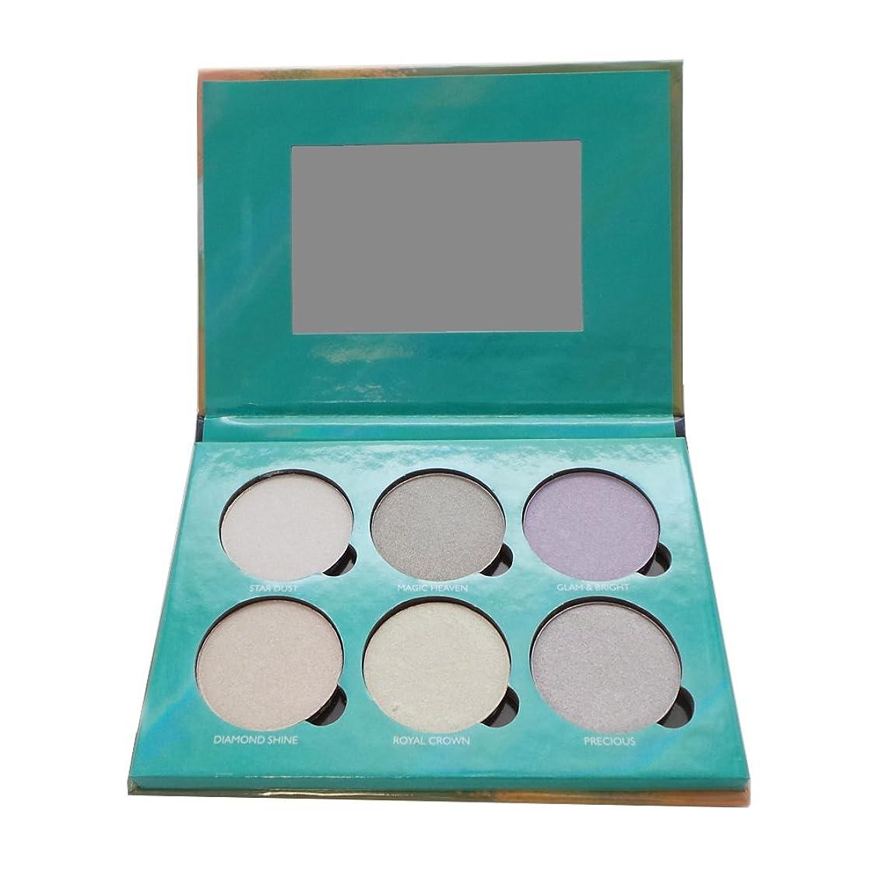 年連隊楽観的OKALAN Glowing Palette Shimmers Kit B (並行輸入品)