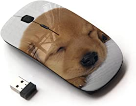 KOOLmouse [ Optical 2.4G Wireless Mouse ] [ Puppy Labrador Retriever Light Brown Dog ]