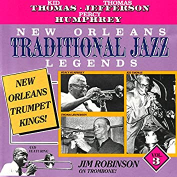 New Orleans Traditional Jazz Legends, Vol. 3