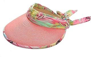 Sombrero de copa de Sun Beach sombrero de verano Brimmed sombrero UV