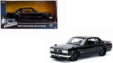 Jada Brian's Nissan Skyline 2000 GT-R (KPGC10) Black Fast & Furious Movie 1/32 Diecast Model Car