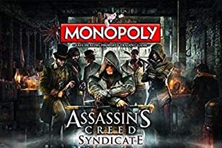 Monopoly assassins Creed Syndicate Monopoly Board Game