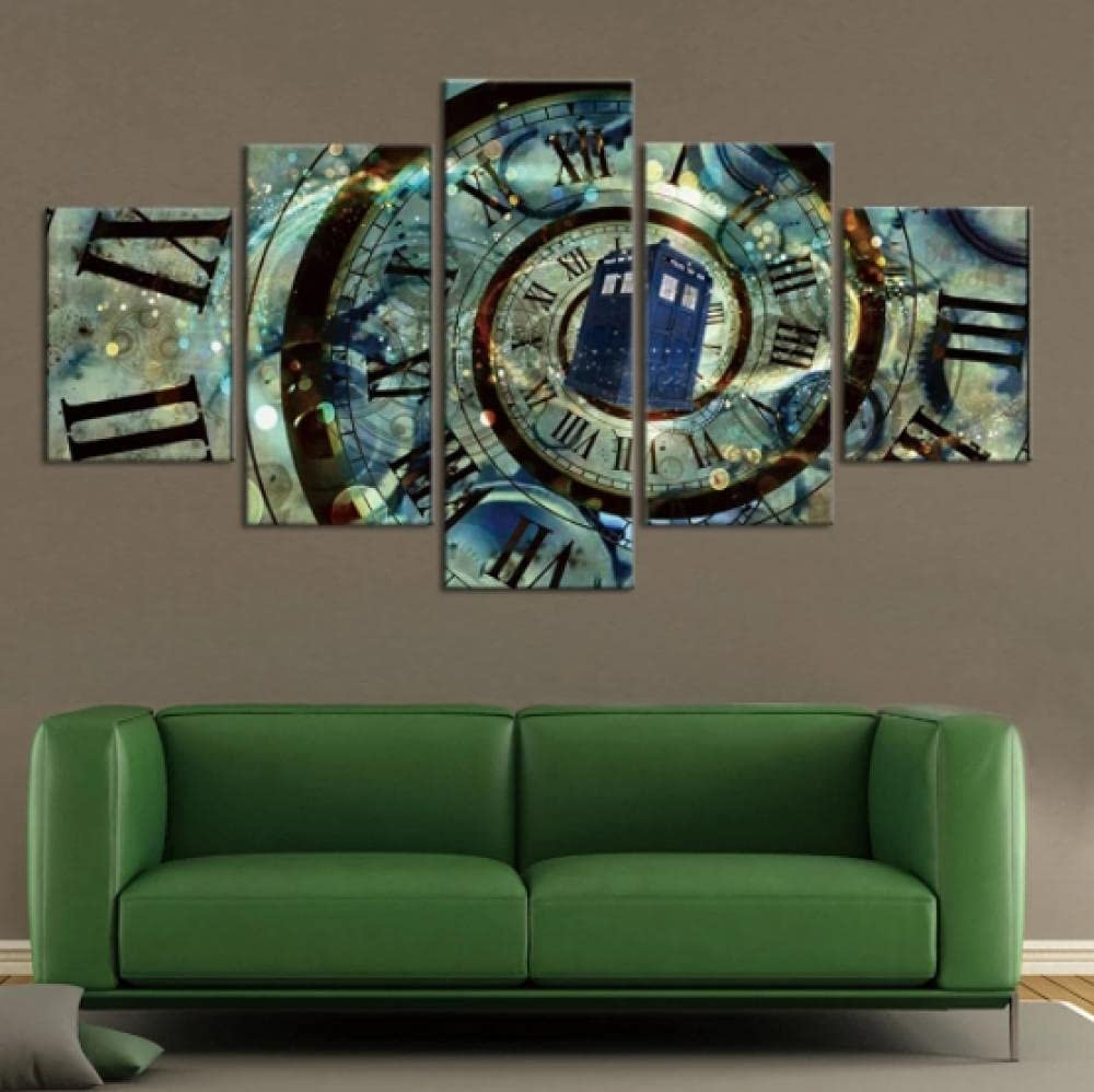 Canvas Pictures Old Watch Home Post Popular overseas shopping Paintings Vintage Decoration