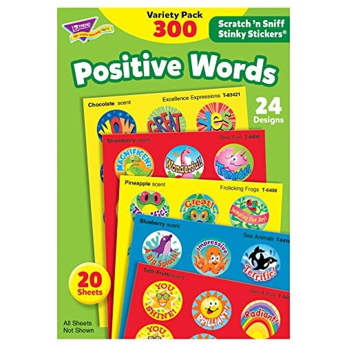 Trend Enterprises Stinky Stickers Variety Praisewords Stickers (TEPT6480)  