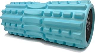 321 STRONG Foam Roller - Extra Firm High Density Deep Tissue Massager with Spinal Channel