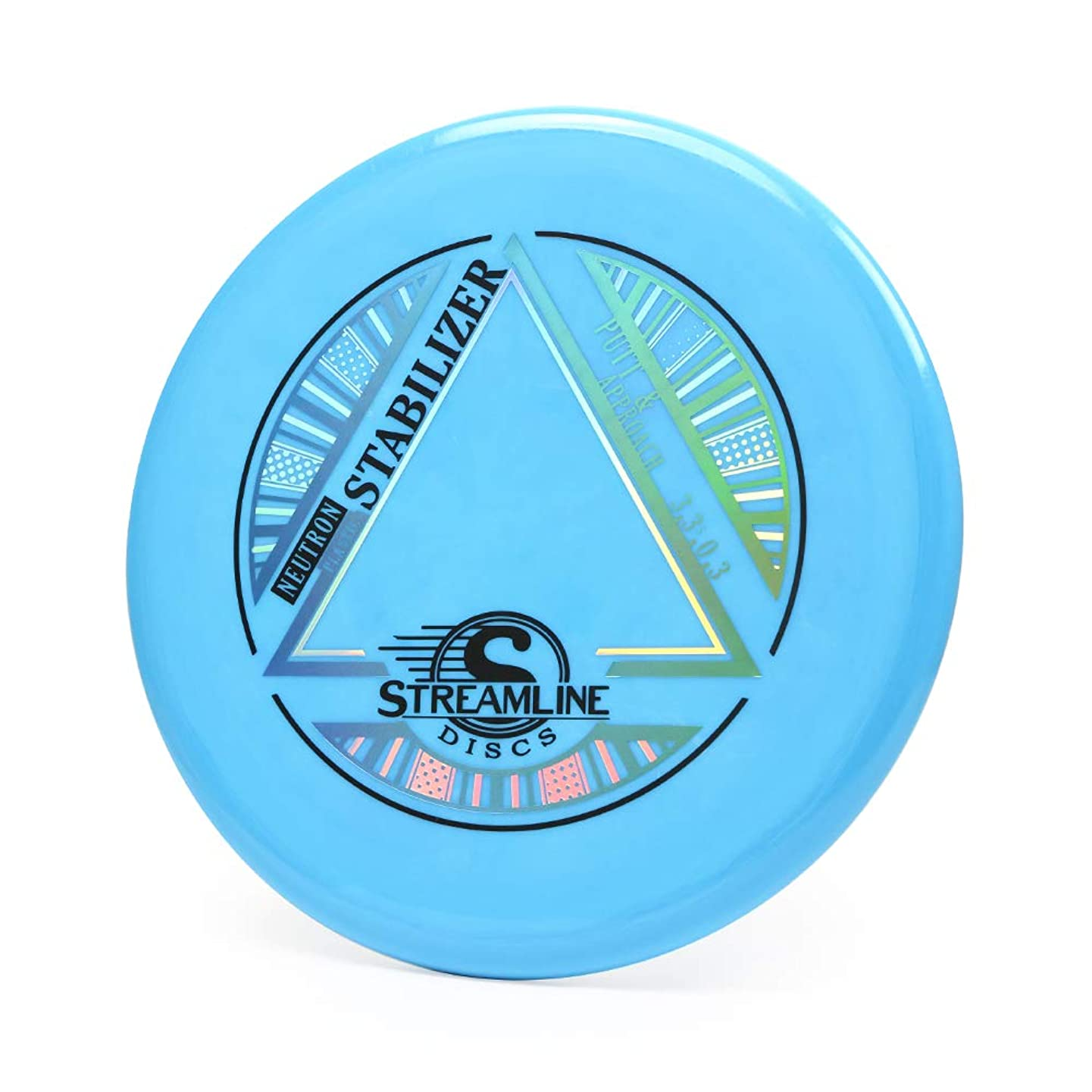 Streamline Discs Neutron Stabilizer Putter Golf Disc [Colors May Vary]