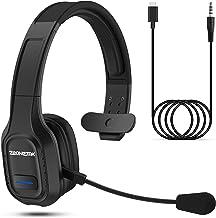 Esolom Bluetooth Headset mit Mikrofon,PC Headset mit 3.5mm Audio-Kabel,..