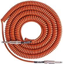 Lava Super Coil Instrument Cable 35' Straight-Straight Orange