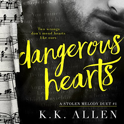 Dangerous Hearts audiobook cover art