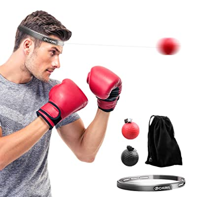 ACVCY Boxing Reflex Ball, 2 Difficulty Level Bo...