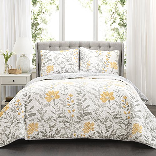 Best yellow and gray bedding