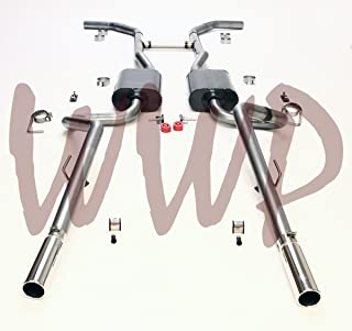 Performance Stainless Steel SS409 Dual 2.50