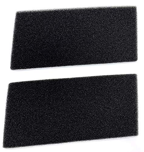 Filter für Bauknecht Privileg Whirlpool HX 481010354757 Trockner Wärmepumpentrockner | 225 x 107 x 8 mm | Schwammfilter Filtermatte Kondenstrockner | 100% Made in Germany Sponge (2er-Set)