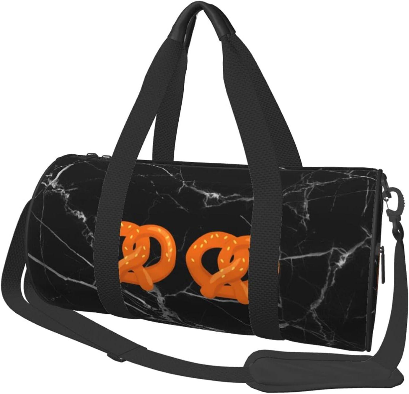 Sports Pretzel Bikini Funny 4 years warranty Halloween Bags Dealing full price reduction Travel Gym Duffle Bag