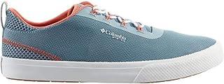 حذاء رياضي حريمي Dorado PFG مقاوم للماء من Columbia مقاس 10، رمادي غامق/خوخي باهت)