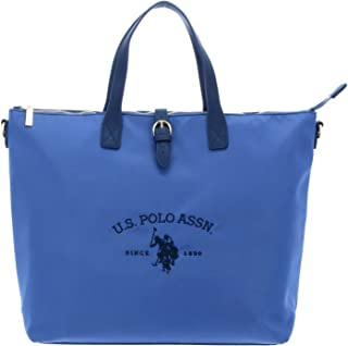 U.S. POLO ASSN. Patterson Tall Shopping Bag L Light Blue