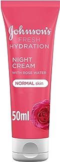 JOHNSON'S, Night Cream, Fresh Hydration, Normal Skin, 50ml