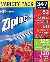 Ziploc Variety Total Bags, 347 Pack