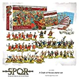 Warlord Games SPQR A Clash of Heroes Starter Set Miniatures