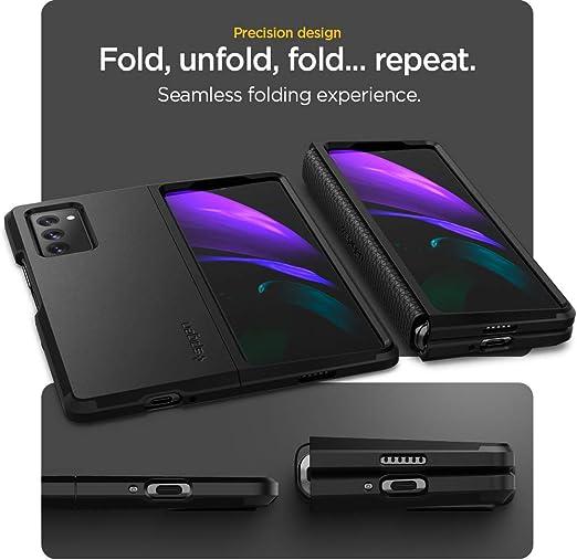 Spigen Tough Armor Designed for Samsung Galaxy Z Fold 2 Case (2020) - Black