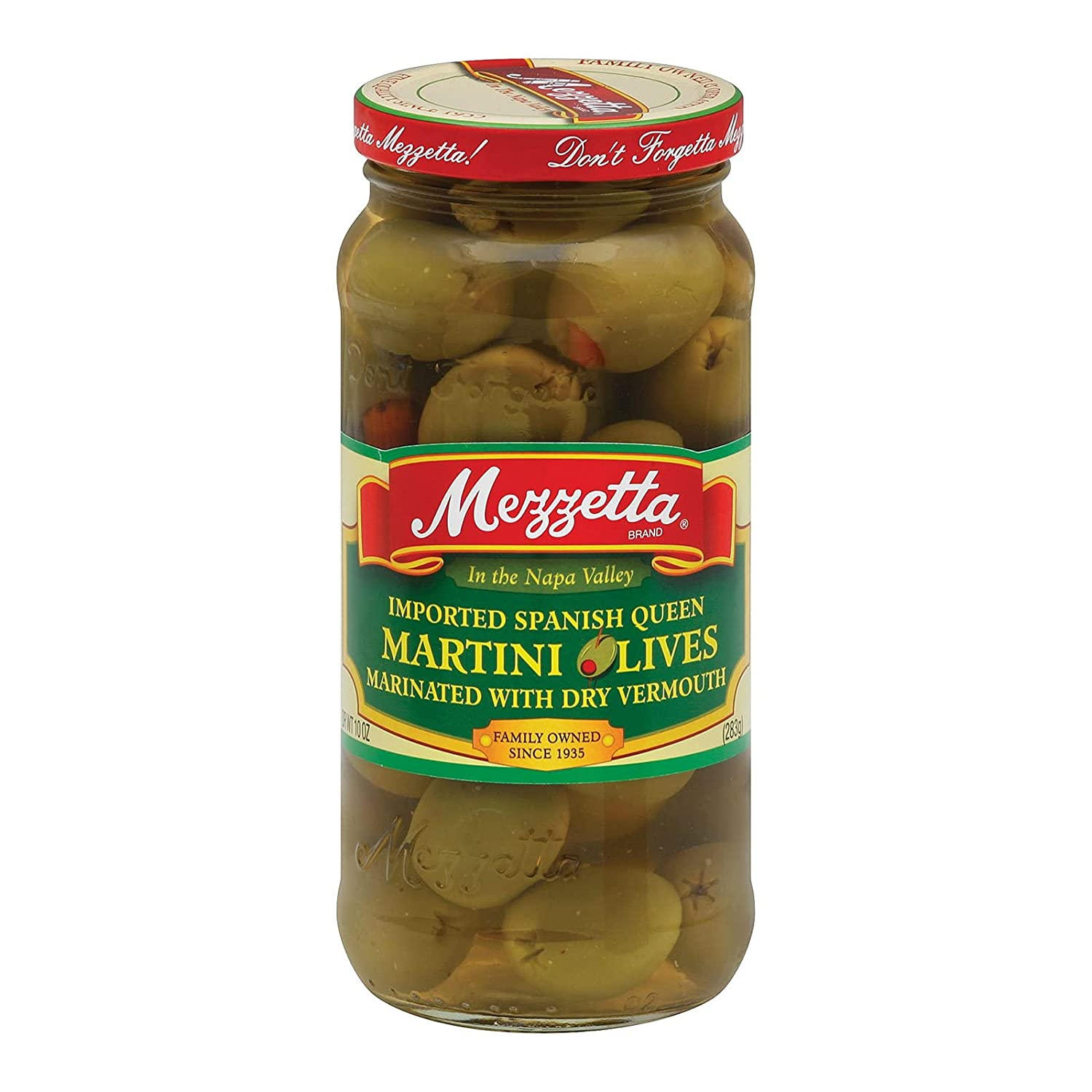Martini Olives Max 64% OFF - 10 ounce 6 per case. New mail order