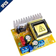 Comidox 1PCS DC-DC 8~32V to 45~390V High Voltage Boost Converter ZVS Step-up Booster Module Capacitor Charging Power Supply Module Adjustable Voltage Output