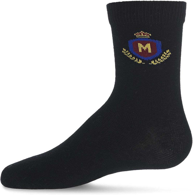 MeMoi Boys Crest Sock