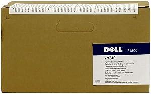 Dell Computer 7Y610 Black Toner Cartridge P1500 Laser Printer