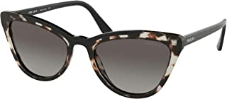 PradaPR01VS3980A7Brown/BlackPR01VSCatsEyesSunglassesLensCategory2S