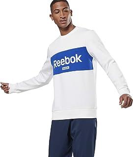 Reebok Men's Te Big Logo Crew Sweatshirt