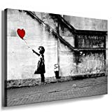 Fotoleinwand24 - Banksy Graffiti Art There is Always Hope /