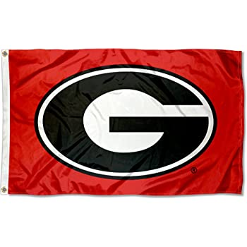 We Live For Saturdays Georgia Football Flag Long Sleeve Tee