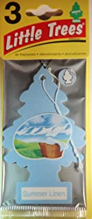 Air Freshener Summer Linen Little Trees 3-Pack