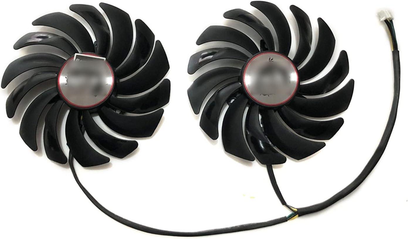 2 unids/Lote gtx1080 gtx1070 gtx1060 GPU Fans de la Tarjeta de refrigerador Fan para MSI GTX 1080/1070/1060 Gaming GPU Tarjeta de gráficos Refrigeración