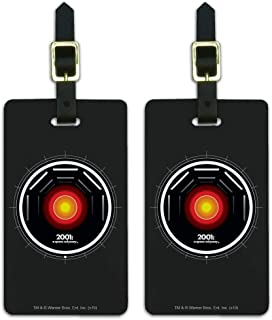 2001: A Space Odyssey Hal Luggage ID Tags Suitcase Carry-On Cards - Set of 2