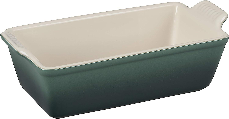 Le Creuset Nippon regular agency Stoneware Heritage Loaf 1.5-Quart Artichaut Pan excellence