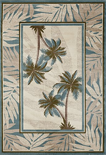 Art Carpet Palm Coast Collection Tranquil Woven Area Rug, 9'2