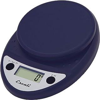 Escali P115NB Primo Digital Kitchen Scale 11Lb/5Kg, Royal Blue 8.5 x 6 x 1.5 inches