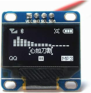 UG LAND INDIA 0.96 OLED Display Module 4-Pin 2C Blue OLED Display Module for Arduino