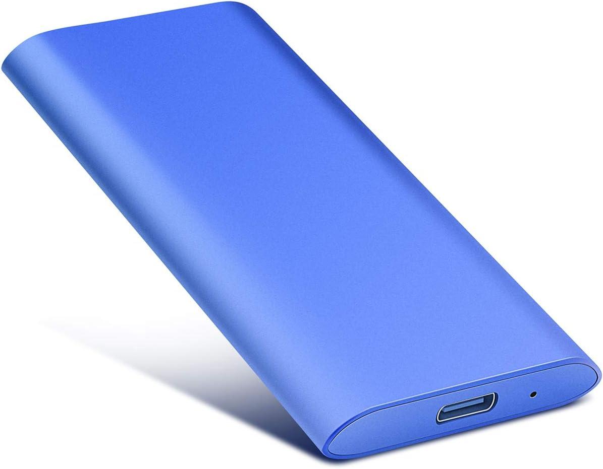 1to, Noir Mac Ordinateur de Bureaup Xbox Ordinateur Portable Wii U Disque Dur Externe 1to Type C USB3.1 pour PC
