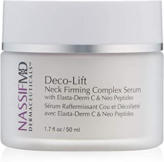 Sponsored Ad - NassifMD Deco-Lift Neck Firming & Lifting Complex Serum with Powerful Peptides that smooth wrinkles for you...