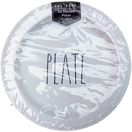 8 Inch 16 Plates Details about  /Rae Dunn Holiday Paper Dessert Plates